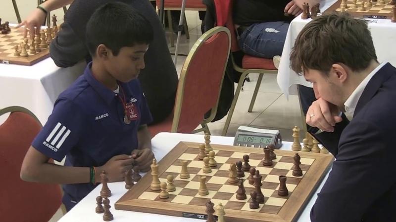 Second youngest vs Youngest Grandmaster. GM Praggnanandhaa vs GM Karjakin -