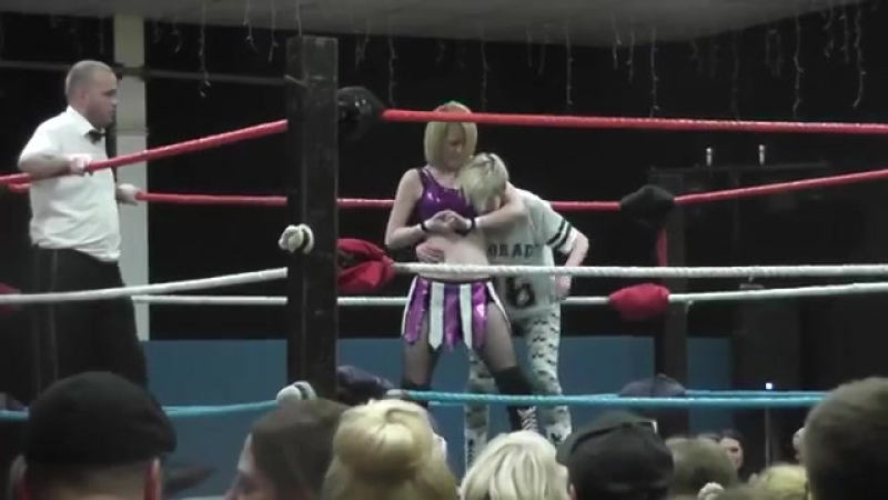 UK Teen Girls Fearn Wai Pro Wrestling Match