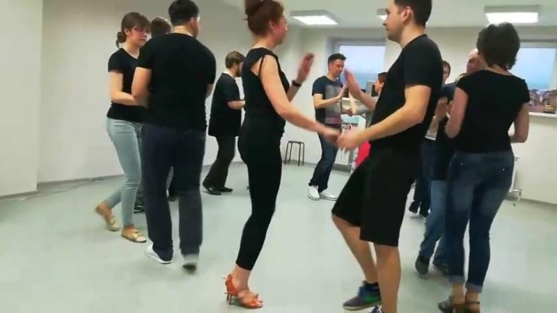 Студия танца Мамболео. Наша руэда.