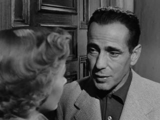 В УКРОМНОМ МЕСТЕ (1950) - триллер, нуар, детектив, мелодрама. Николас Рэй 1080p