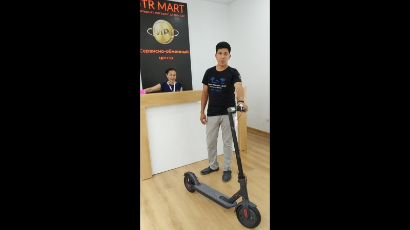 Видео отзыв клиента о сервисно-обменном центре JTR Mart