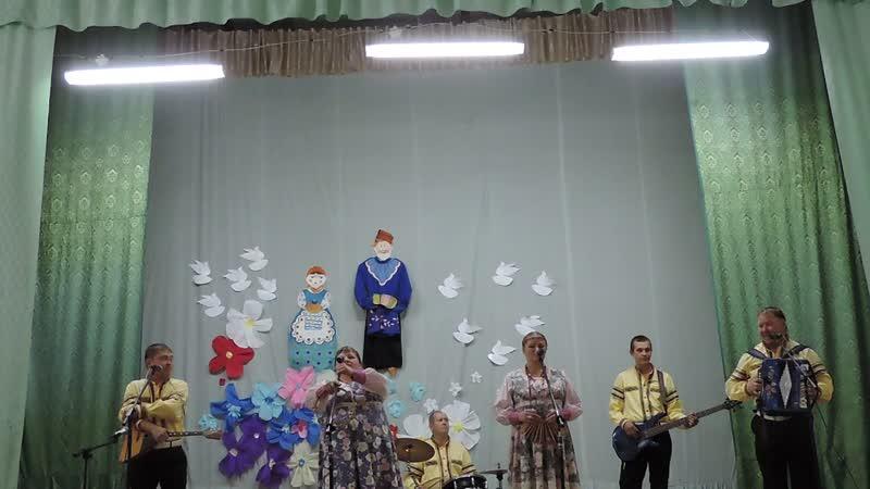Концерт ансамбля Разгуляй в д. Лытка афанасьевский район