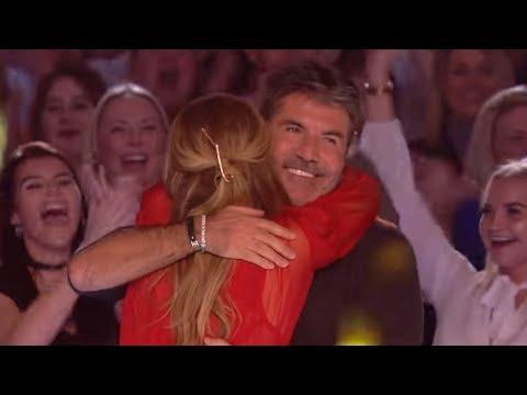 WOW!😱🌟 Simon Cowell´s GOLDEN BUZZERS   Britain's America's Got Talent 2018