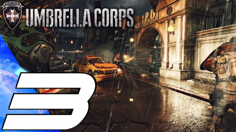 Resident Evil Umbrella Corps (PS4) - Gameplay Walkthrough Part 3 - Raccoon City