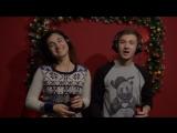 Новогодний клип с coca-cola) Оля и Сергей) Жестовое пение