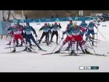 Лыжные гонки. Скиатлон. Мужчины. Финал 11.02 (Highlight). #Россия