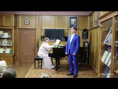 Валентин Сёмов - Ария Онегина(Вы мне писали) Концертмейстер - Елена Лалетина