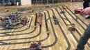 MEGA LEGO CITY TRAIN TRACK LAYOUT TIMELAPSE
