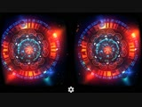 Virtual Reality. Abduction UFO 3D VR SBS