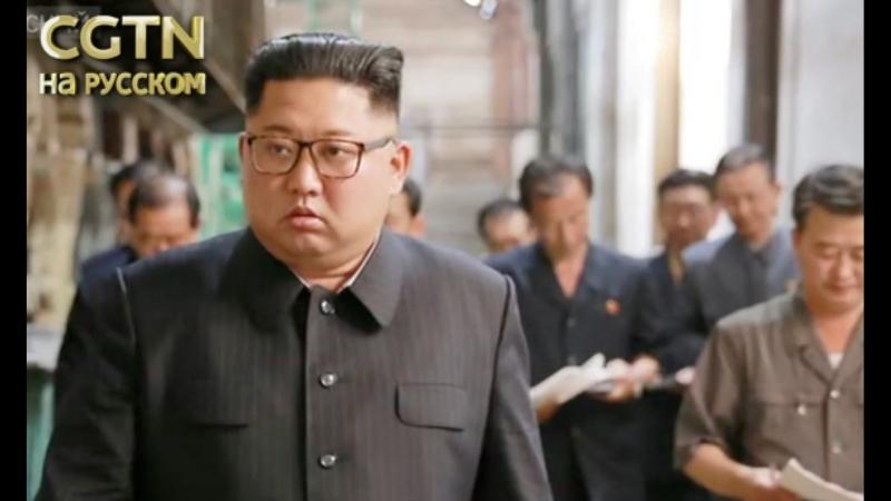 Северокорейский лидер посетил с инспекцией город Синыйджу на границе с Китаем.