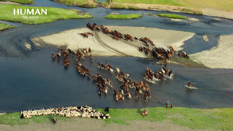 FL ● Монголия. Аэросъёмка, проект HUMAN ● 1080HD