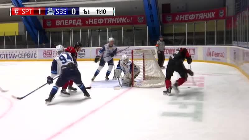 «Спутник» – «Сибирские Снайперы» (Чемпионат МХЛ 18/19) 16.11.18 - все голы матча.