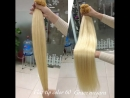 DOUBLE DRAWN TIP HAIR , STRAIGHT 24INCHES BLONDE COLOR HAIR EXTENSION
