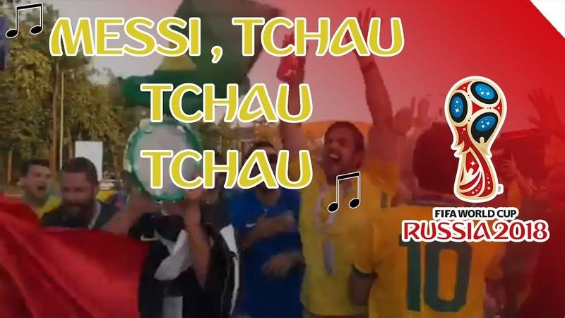 MESSI, TCHAU, MESSI, TCHAU, MESSI, TCHAU TCHAU TCHAU!!