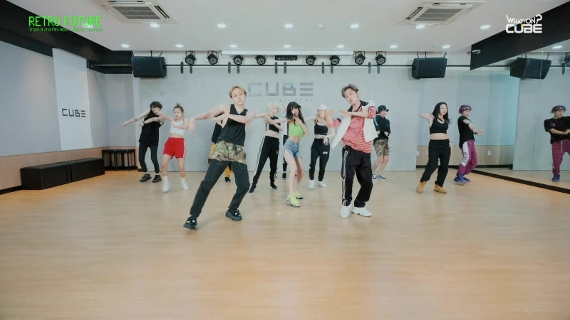 트리플 H - 'RETRO FUTURE' (Choreography Practice Video)