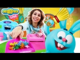 СМЕШАРИКИ Live Аня и Нюша Генеральная уборка в домике Кроша Видео для детей