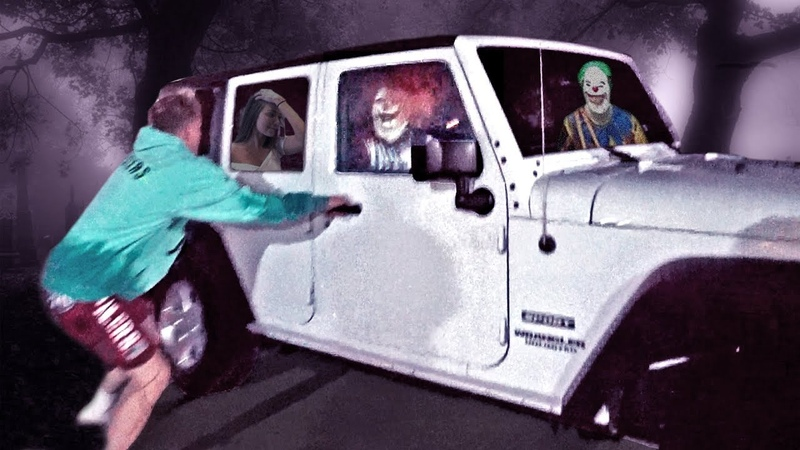 THE KILLER CLOWNS CAME TO KIDNAP ERIKA.. (COPS CAME)