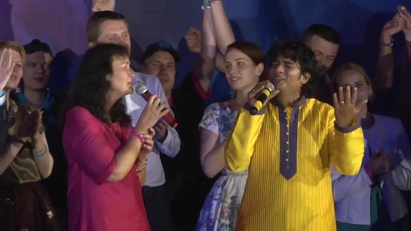 Торжественное закрытие XII фестиваля Психология 3000 Битту Малик песня Благодарю
