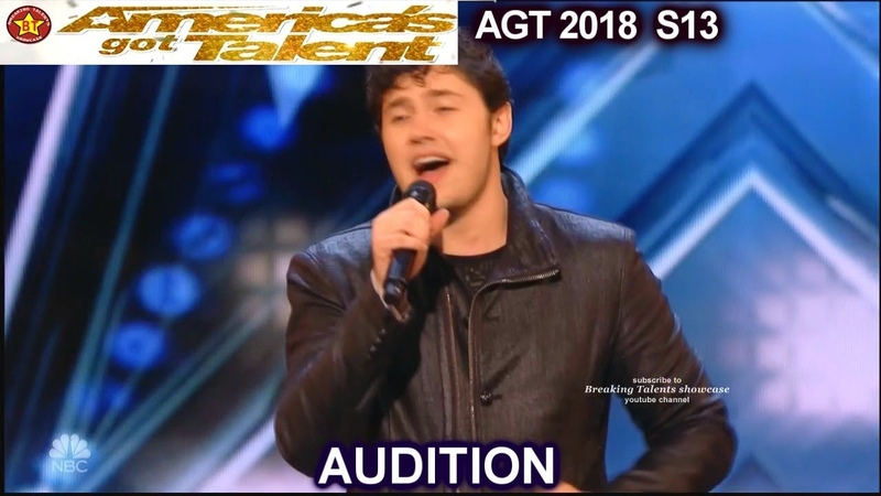 """Daniel Emmet Sings """"Passera"""" that Simon Cowell Asks for Him to sing America's Got Talent 2018 AGT"""