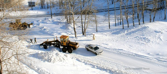 О зимней уборке дорог в Усть-Илимске