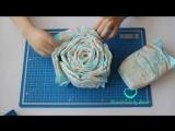 Торт из памперсов (подгузников) своими руками