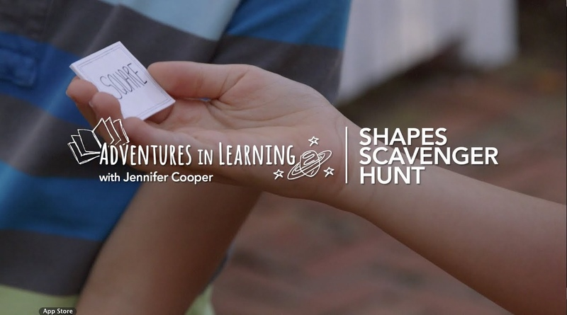 Shape Scavenger Hunt | Adventures in Learning | PBS Parents