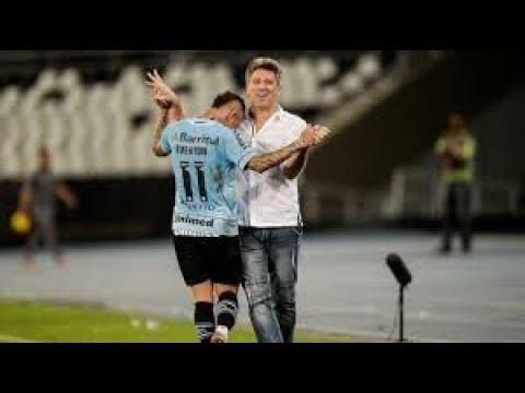 Everton Marca para o Grêmio um Golaço de calcanhar no Maracanã Fluminense 0x1 Grêmio 29/09/18