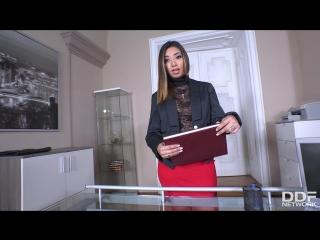 Frida Sante [PornMir, ПОРНО ВК, new Porn vk, HD 1080, Blowjob, Cum in mouth, Footjob, Office, POV, Facial]
