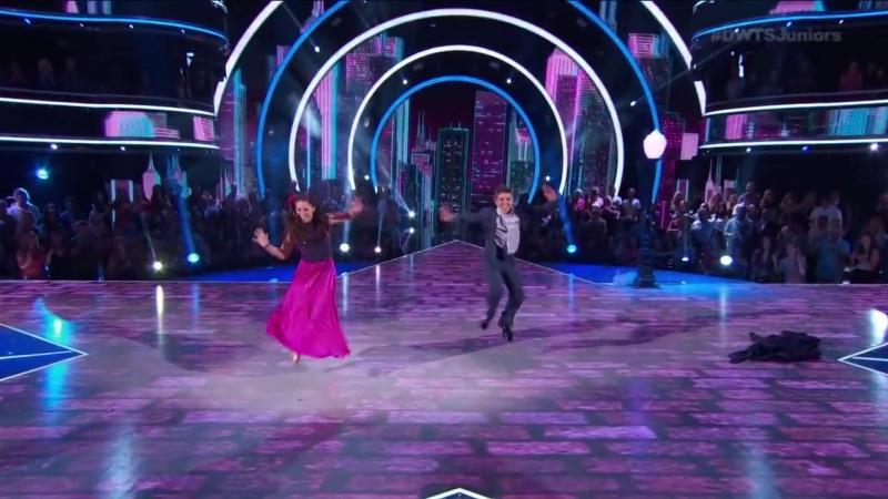 МакКензи Зиглер Сейдж Росен – «Foxtrot» («Фокстрот») | «Танцы со звёздами Юниоры»