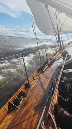 Yachting in the Gulf of Finland