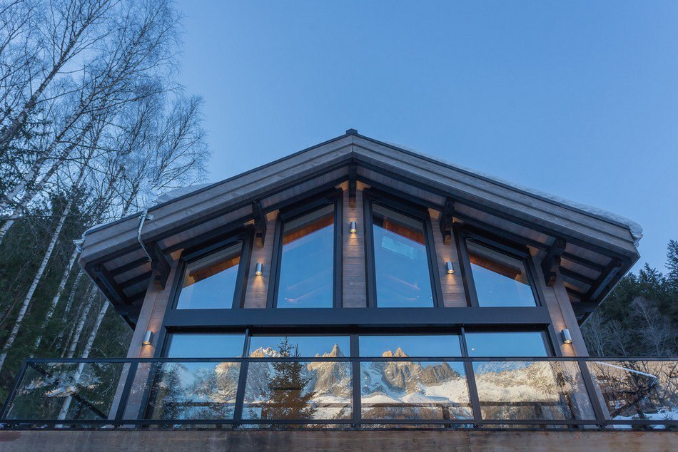 Beautiful Chamonix Chalet Gets a Practical Winter Upgrade