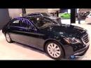 2018 Mercedes Benz S Class S560 4Matic Sedan Exterior Interior Walkaround 2018 Chicago Auto Show