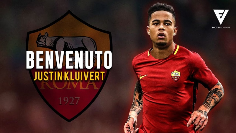 Justin Kluivert Welcome To AS Roma ● Crazy Skills Assists Goals ● 2018 HD