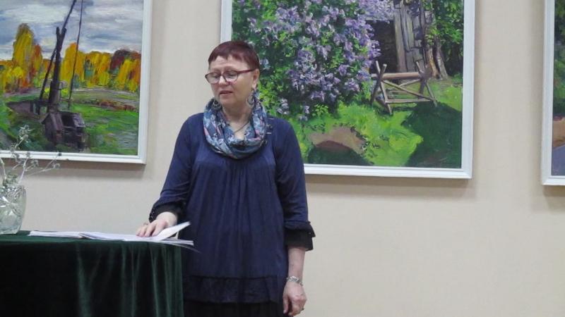 10.12.17 Ротонда КДЦ Ижорский Анна Ефанова читает свои стихи.