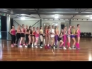 80s Fitness Class Spandex Girls.