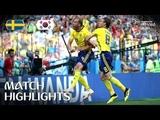 Sweden v Korea Republic - 2018 FIFA World Cup Russia - Match 12