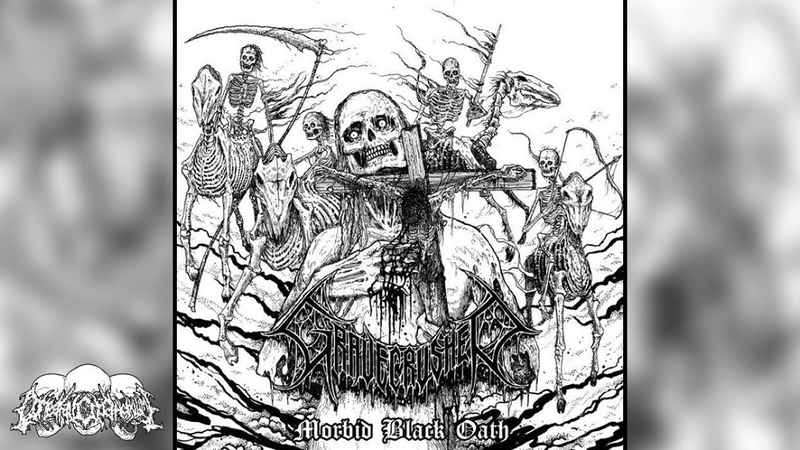 • GRAVECRUSHER - Morbid Black Oath [Full EP Album] Old School Death Metal
