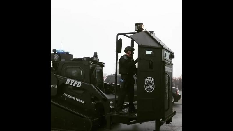 Спецтехника на вооружении полиции