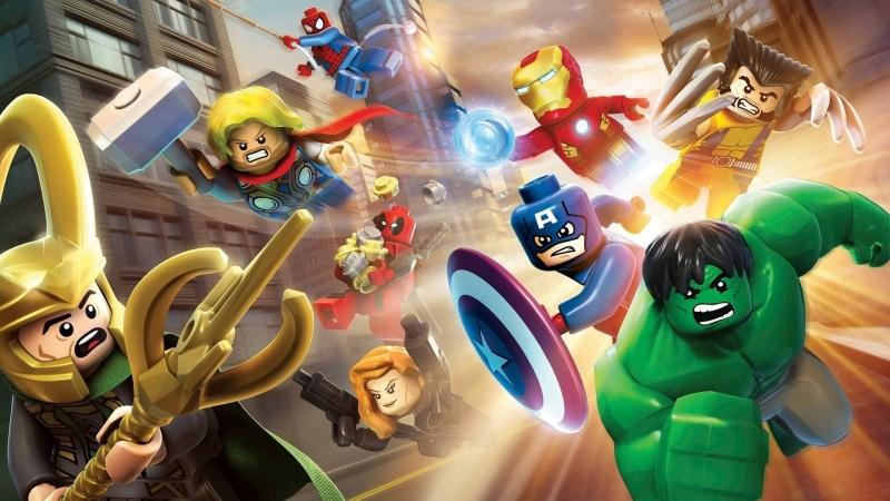 Lego Marvel Super Heroes 4/ Фрай и все все/Розыгрыш в группе ВК