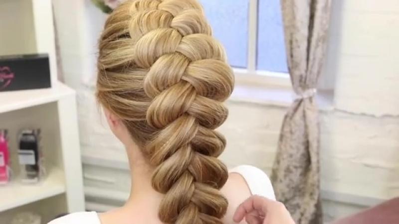 Великолепная объемная коса