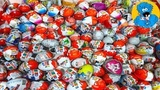 Киндер Сюрпризы,A Lot Of Candy and Kinder Surprise Eggs Тачки,Angry Birds,Shrek,Rare Kinder