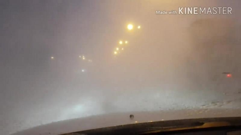 Ураган в Астане
