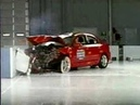 Crash Test 2004 - 2009 Mazda 3 / Axela Frontal Offset IIHS