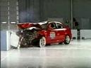 Crash Test 2004 - 2009 Mazda 3 / Axela (Frontal Offset) IIHS