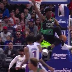 Boston Celtics в Instagram: «First NBA bucket in style ?»