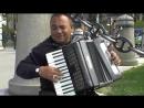 Уличные музыканты Аккордеон виртуоз Мадрид street music