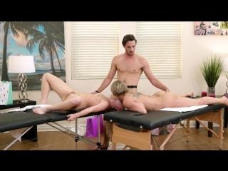 Dee Williams, Vienna Rose – Daughter-Mom Combo [Fantasy Massage. HD1080, Incest, Massage, Threesome]