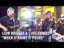CMT Crossroads: Leon Bridges and Luke Combs | When It Rains It Pours | Sneak Peek