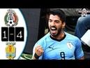 Mexico vs Uruguay 1-4 Resumen Goles Amistoso 2018