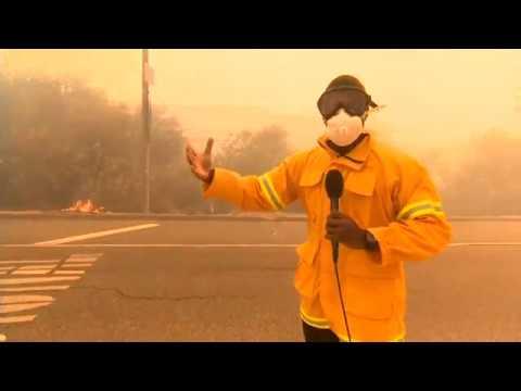 Ungewöhnlich schwere Waldbrände in Kalifornien /11.11.2018, 04.39 Uhr: Mindestens 25 Tote